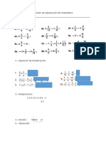 Examen de Subsanación de Matemática