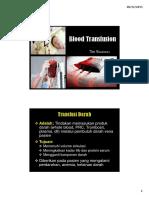 Blood Transfusion 5 Des 2013
