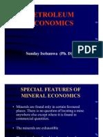 Petroleum Economics