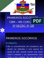 Noções básicas de primeiros Socorros  pROFº  Cadário.ppt
