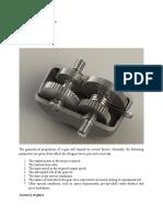 Gear Design Procedure