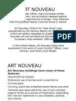 Art Nouveau Architecture Primer