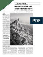 160229 La Verdad- El Peñón Defiende Ante La CE Su Lucha Contra Los Delitos Fiscales