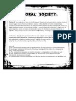 Pastoral Society