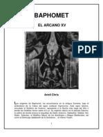 Baphomet, Arcano XV, Ariell Chris