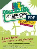 Dossier Subvention - Alternatiba Gironde