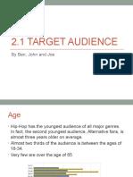 2 1 target audience