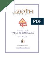 Meditaciones sobre La Tabla de Esmeralda, Ariell Chris