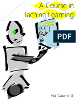 A Course in Machine Learning, By Hal Daumé III [v0.9]