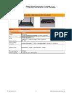 Industrial GPRS 4 Lan Router - CM3155R