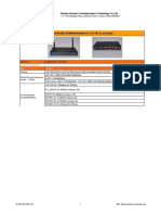 Industrial LTE FDD 4 Lan Router - CM520-82F