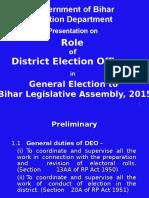 Presentation for DEOs