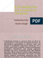 A Study on Marketing Strategy of Airtel in Lucknow