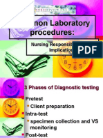 common laboratory procedures