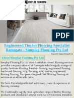 Engineered Timber Flooring Specialist Ramsgate Simplay Flooring Pty Ltd