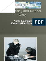 emergency nursing & critical care