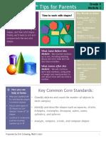 eureka math grade k module 2 parent tip sheet p 1