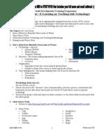 Workshop Handout E_Learning