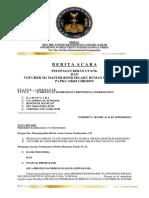 BERITA ACARA 14 2 2016  DEBT BURDEN LIBERATION CERTIFICATE VOUCHER M1 MASTER BOND