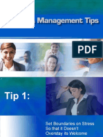 Stress Management in the Workplace Training PowerPoint Education and Tips Program