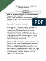 3e SE Report for the NF 16