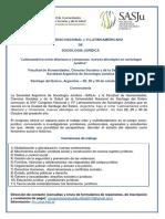 CONVOCATORIA XVI Congreso Nacional y VI Latinoamericano de Sociología Jurídica 21