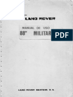 Land Rover 88 Militar Manual