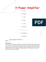 25 Watt Power Amplifier