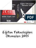 Eğitim Teknolojileri Okumaları 2015