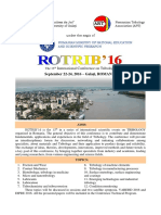 Call for Papers ROTRIB16, RO