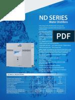 NUVE ND 4-8-12 - NS 103 Water Distiller Brochure
