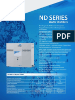 NUVE ND 4-8-12 - NS 103 Water Distiller Brochure