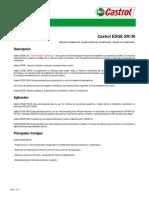 CASTROL 5W30 EDGE ESPECIFICACIONES