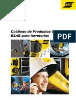 Catalogo Esab - Electrodos y Equipos para soldadura