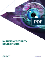 Kaspersky Security Bulletin 2015