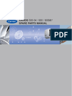 MANUAL TECNICO CARRIER XARIOS 500/600