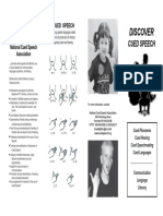 cs definition discover cued speech cs brochure