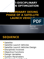 Preliminary Desing Phase of a Satellite Launch Vehicle