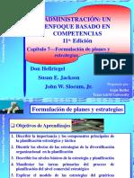 Cap7 - Formulacion de Planes y Estrategias