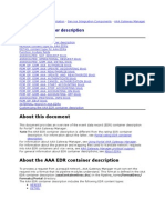 AAA EDR container description
