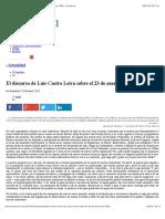 El Discurso de Luis Castro Leiva Sobre El 23 de Enero de 1958 « Prodavinci