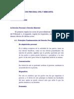 Derecho Procesal Civil y Mercantil de Mario Aguirre Godoy
