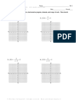 Graphing Rational Functions...Reinforcement Activity #2 PDF