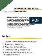 Capurro - Etica de La Informacion