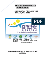 Rencana Kerja pendamping pkh Bulan Maret 2016
