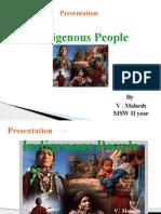 Presentation on Indigenous People