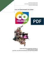 Colombia, Productos con denominación de Origen - Christian David Cárdenas Argüello