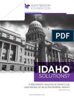 Idaho Values? A Freedom Foundation report