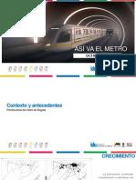 Metro Subterraneo para Bogotá