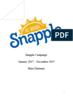 snapple campaign final hartman